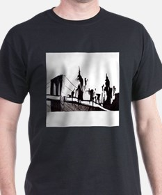 Unique Brooklyn bridge T-Shirt