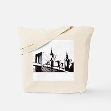 Unique Brooklyn bridge Tote Bag
