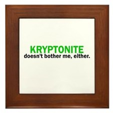 Kryptonite Framed Tile