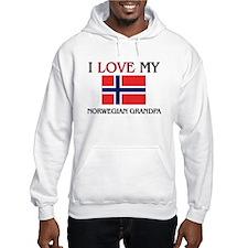 I Love My Norwegian Grandpa Hoodie