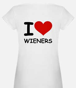 I LOVE WIENERS Shirt