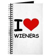 I LOVE WIENERS Journal