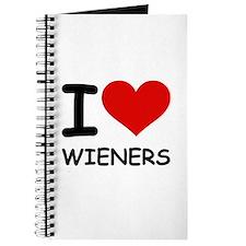 I LOVE WIENERS Journal