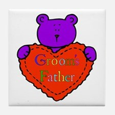 Groom's Father Tile Coaster