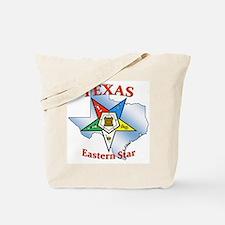 Texas Eastern Star Tote Bag