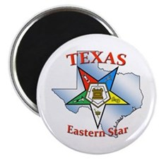 Texas Eastern Star Magnet
