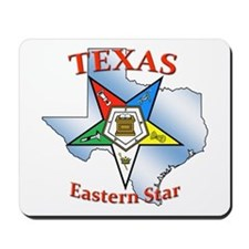 Texas Eastern Star Mousepad