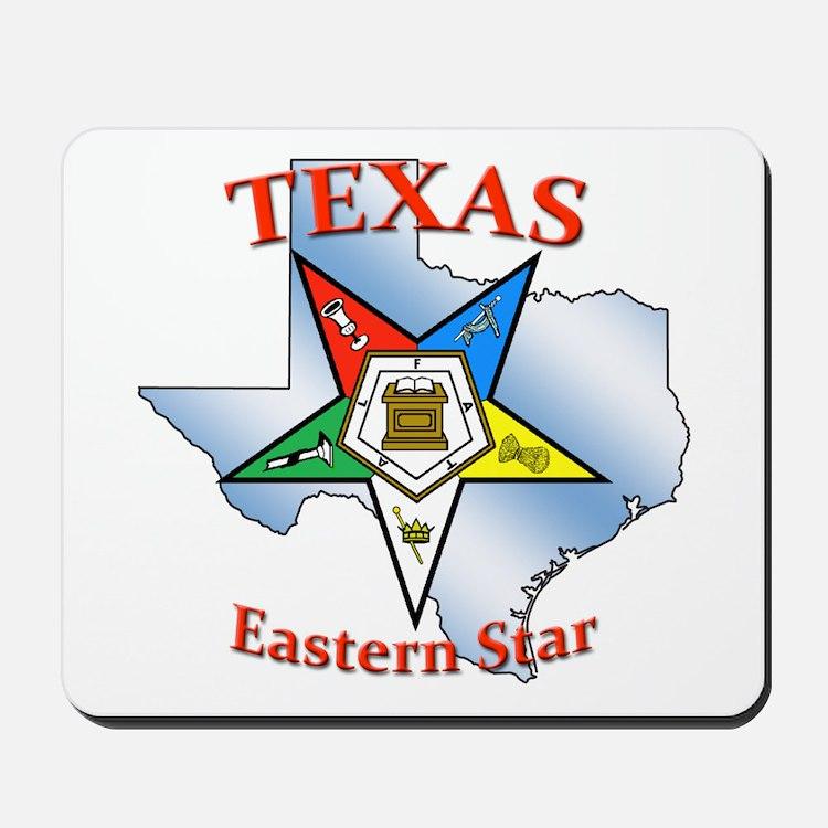 Texas Eastern Star Mousepad