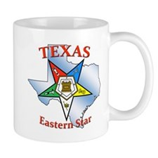 Texas Eastern Star Small Mug