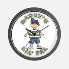 Daddy's Lil' Pal Wall Clock