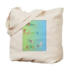 Children's father's day Abba (Heb) Tote Bag