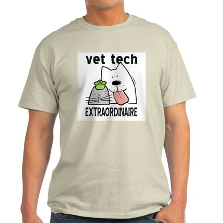Vet Tech Extraordinaire Light T-Shirt