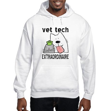 Vet Tech Extraordinaire Hooded Sweatshirt