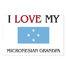 I Love My Micronesian Grandpa Postcards (Package o