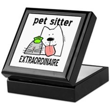 Pet Sitter Extraordinaire Keepsake Box