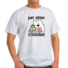 Pet Sitter Extraordinaire T-Shirt