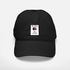 i play in da dirt pit bull Baseball Hat