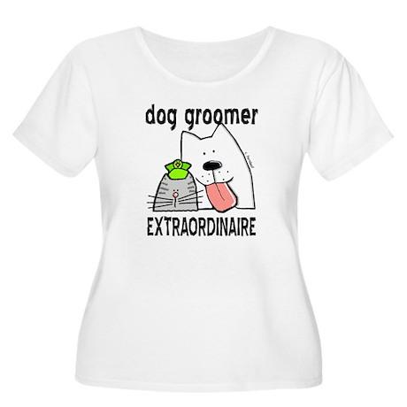Pet Groomer Extraordinaire Women's Plus Size Scoop