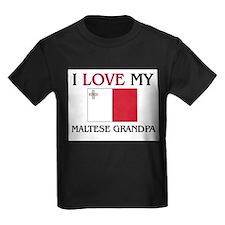 I Love My Maltese Grandpa T