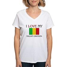 I Love My Malian Grandpa Shirt