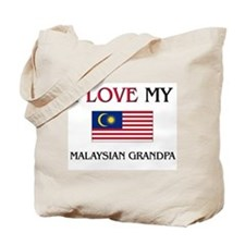 I Love My Malaysian Grandpa Tote Bag