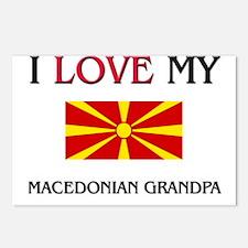 I Love My Macedonian Grandpa Postcards (Package of