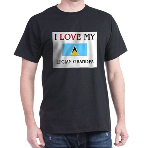 I Love My Lucian Grandpa T-Shirt