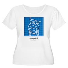 moo print T-Shirt