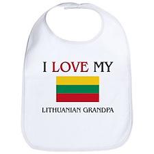 I Love My Lithuanian Grandpa Bib