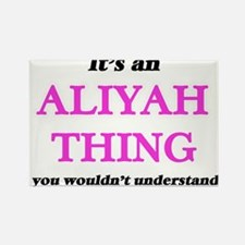 It's an Aliyah thing, you wouldn't Magnets