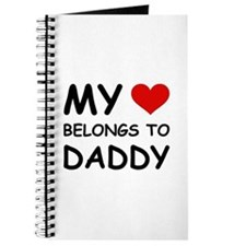 MY HEART BELONGS TO DADDY Journal
