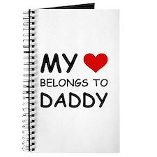 MY HEART BELONGS TO DADDY Journal