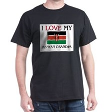 I Love My Kenyan Grandpa T-Shirt