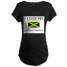 I Love My Jamaican Grandpa T-Shirt