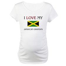 I Love My Jamaican Grandpa Shirt