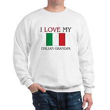 I Love My Italian Grandpa Jumper