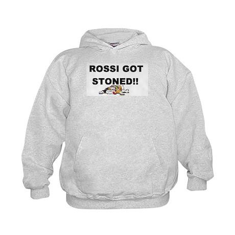 Rossi got Stoned! Kids Hoodie