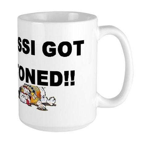 Rossi got Stoned! Large Mug