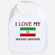 I Love My Iranian Grandpa Bib
