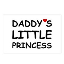 DADDY'S LITTLE PRINCESS Postcards (Package of 8)