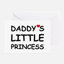 DADDY'S LITTLE PRINCESS Greeting Cards (Pk of 10)