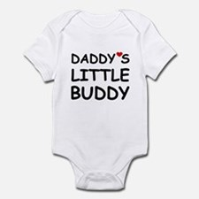 DADDY'S LITTLE BUDDY Infant Bodysuit
