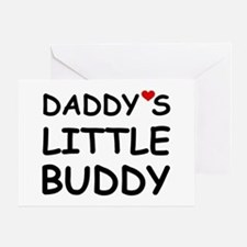 DADDY'S LITTLE BUDDY Greeting Card