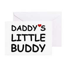 DADDY'S LITTLE BUDDY Greeting Cards (Pk of 20)