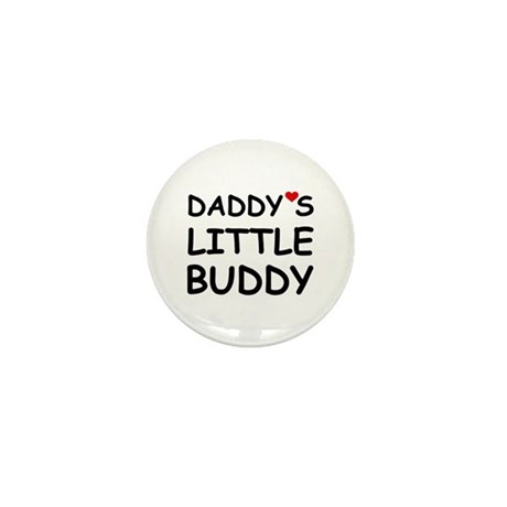 DADDY'S LITTLE BUDDY Mini Button (10 pack)