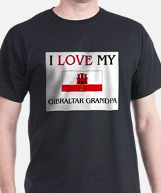 I Love My Gibraltar Grandpa T-Shirt
