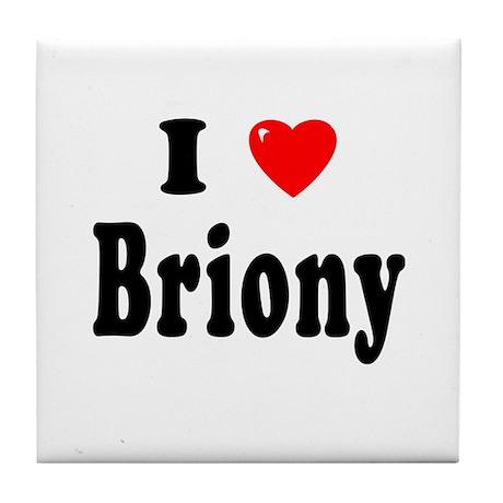 BRIONY Tile Coaster