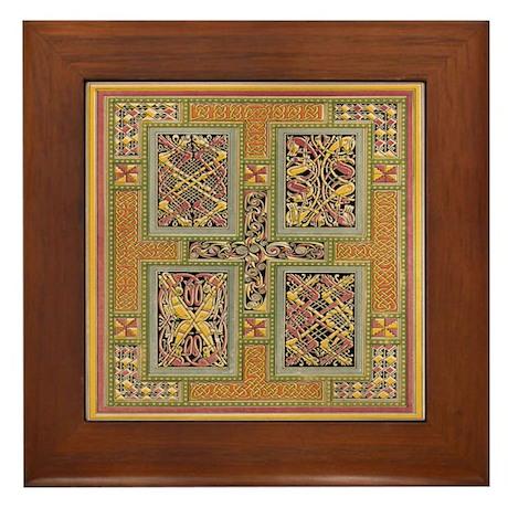 Kells Tapestry Framed Tile