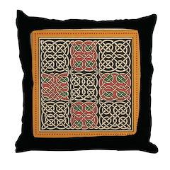 Celtic Splendour Throw Pillow