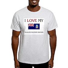 I Love My Falkland Islander Grandpa T-Shirt